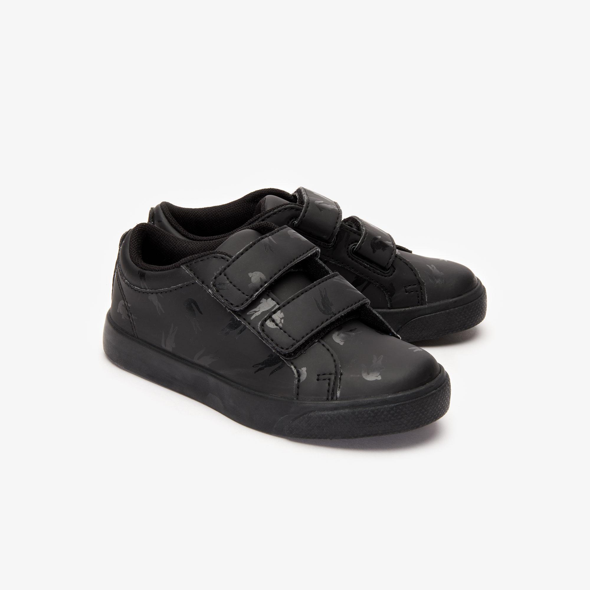 Lacoste Straightset 319 2 Cui Çocuk Siyah Casual Ayakkabı
