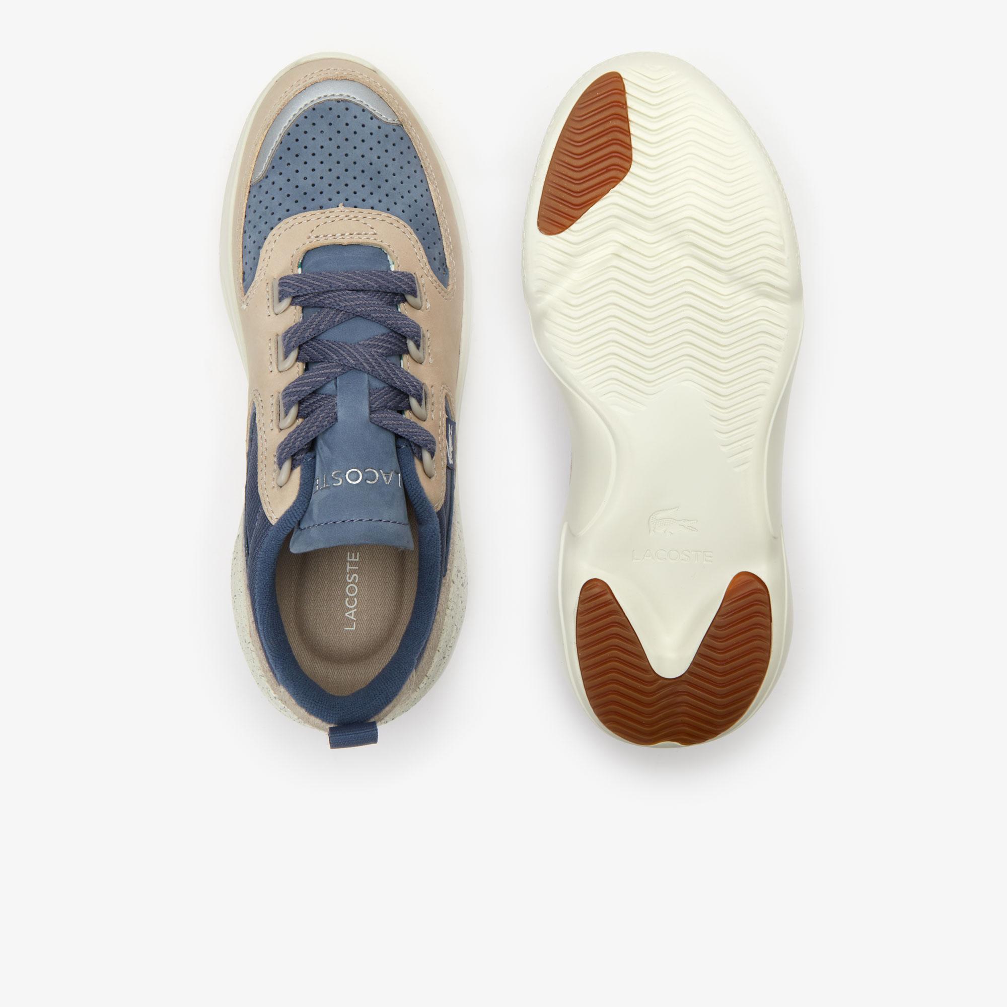 Lacoste Wildcard 319 3 Sfa Kadın Koyu Mavi - Bej Sneaker