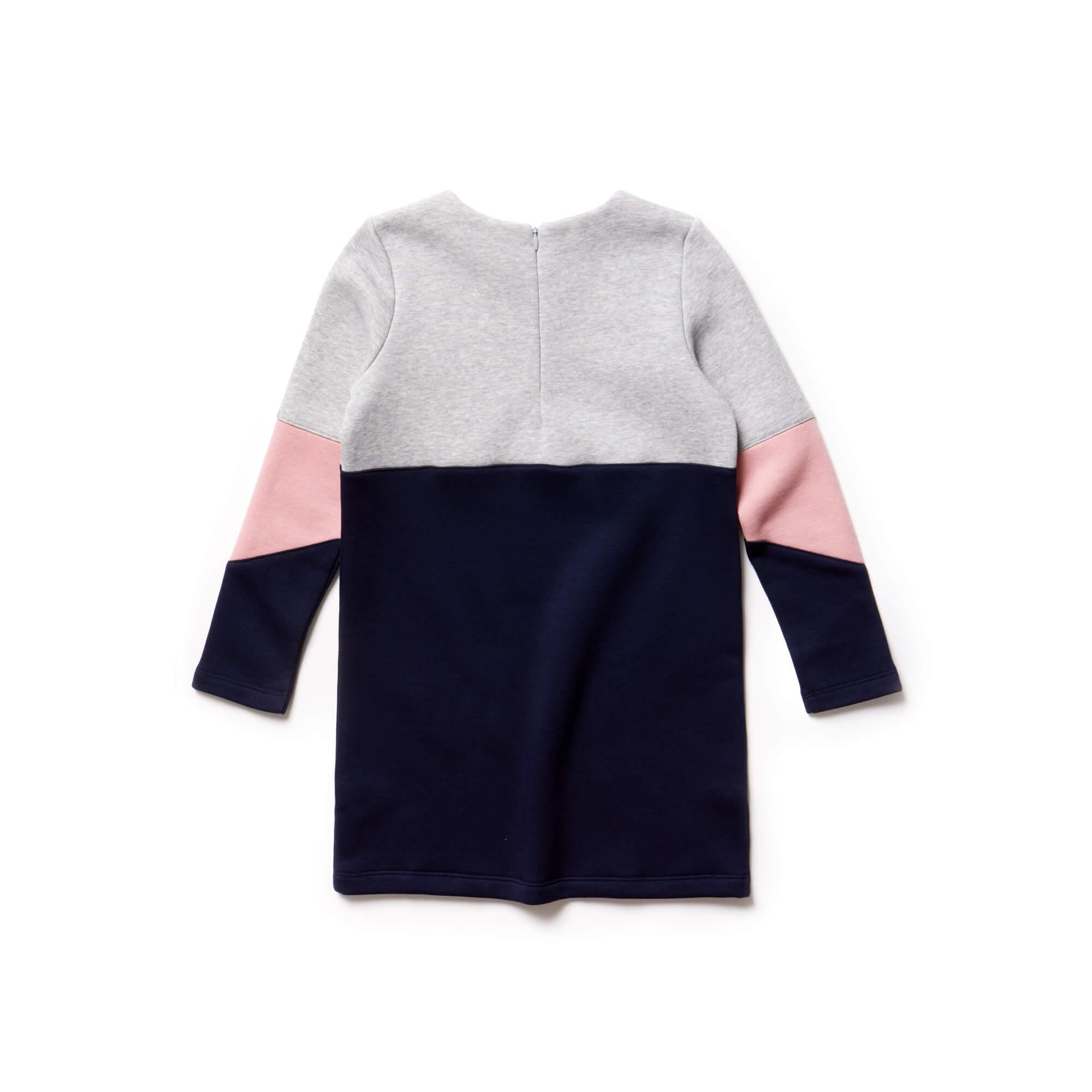 Lacoste Çocuk Lacivert-Gri Elbise