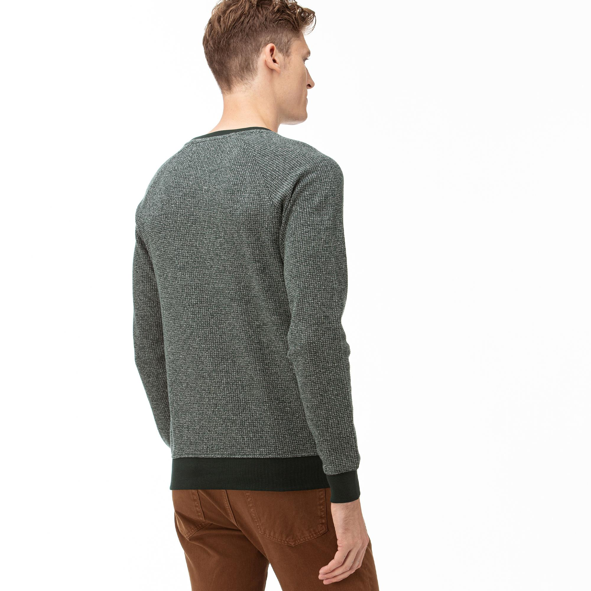 Lacoste Erkek Yeşil Uzun Kollu Sweatshirt
