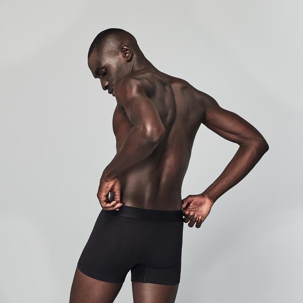 Lacoste Erkek 3'lü Siyah Boxer