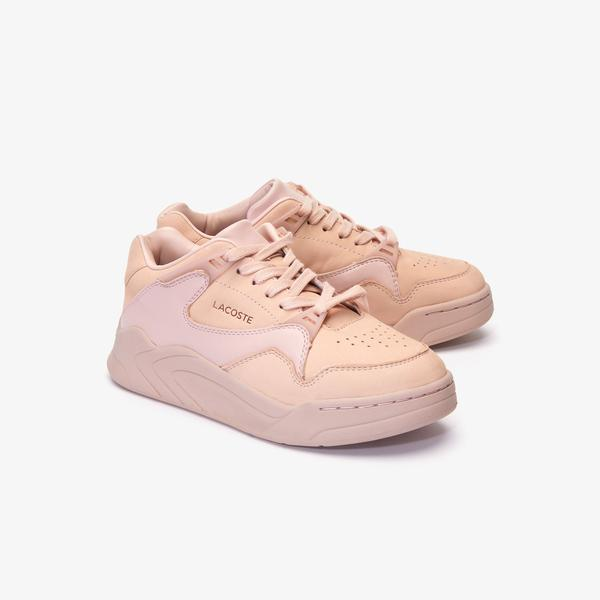 Lacoste Court Slam 419 1 Sfa Kadın Pudra Sneaker