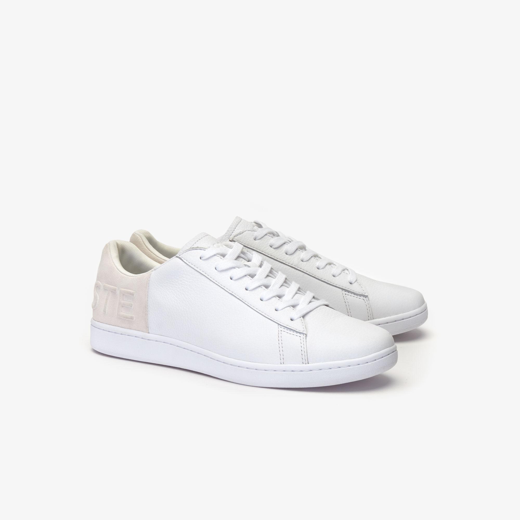 Lacoste Carnaby Evo 419 2 Sma Erkek Beyaz - Bej Sneaker