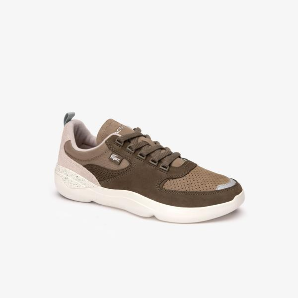 Lacoste Erkek Wildcard 419 1 SMA Kahverengi - Bej Sneaker