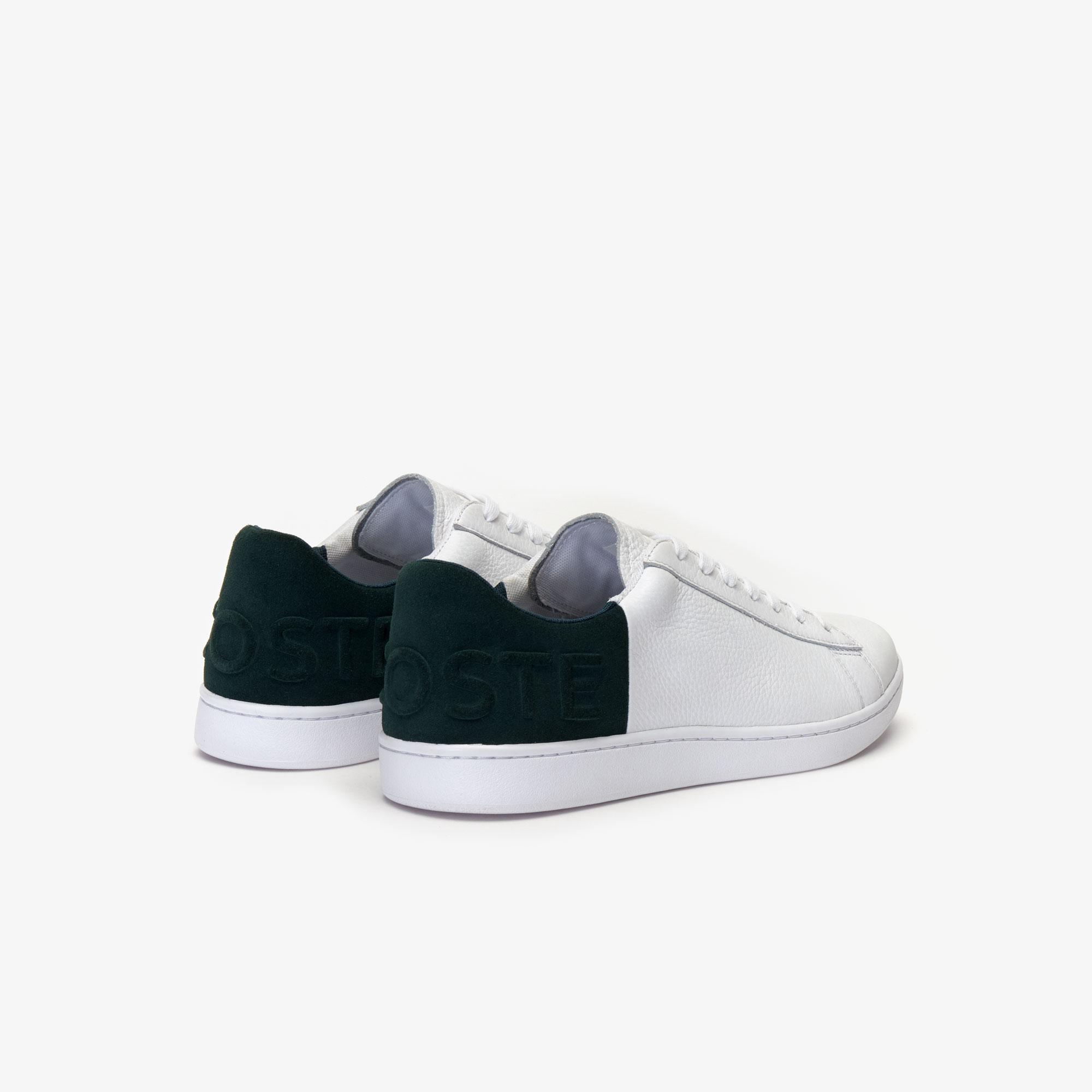 Lacoste Carnaby Evo 419 2 Sma Erkek Beyaz - Koyu Yeşil Sneaker