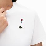 Lacoste L!VE Kadın Beyaz T-Shirt