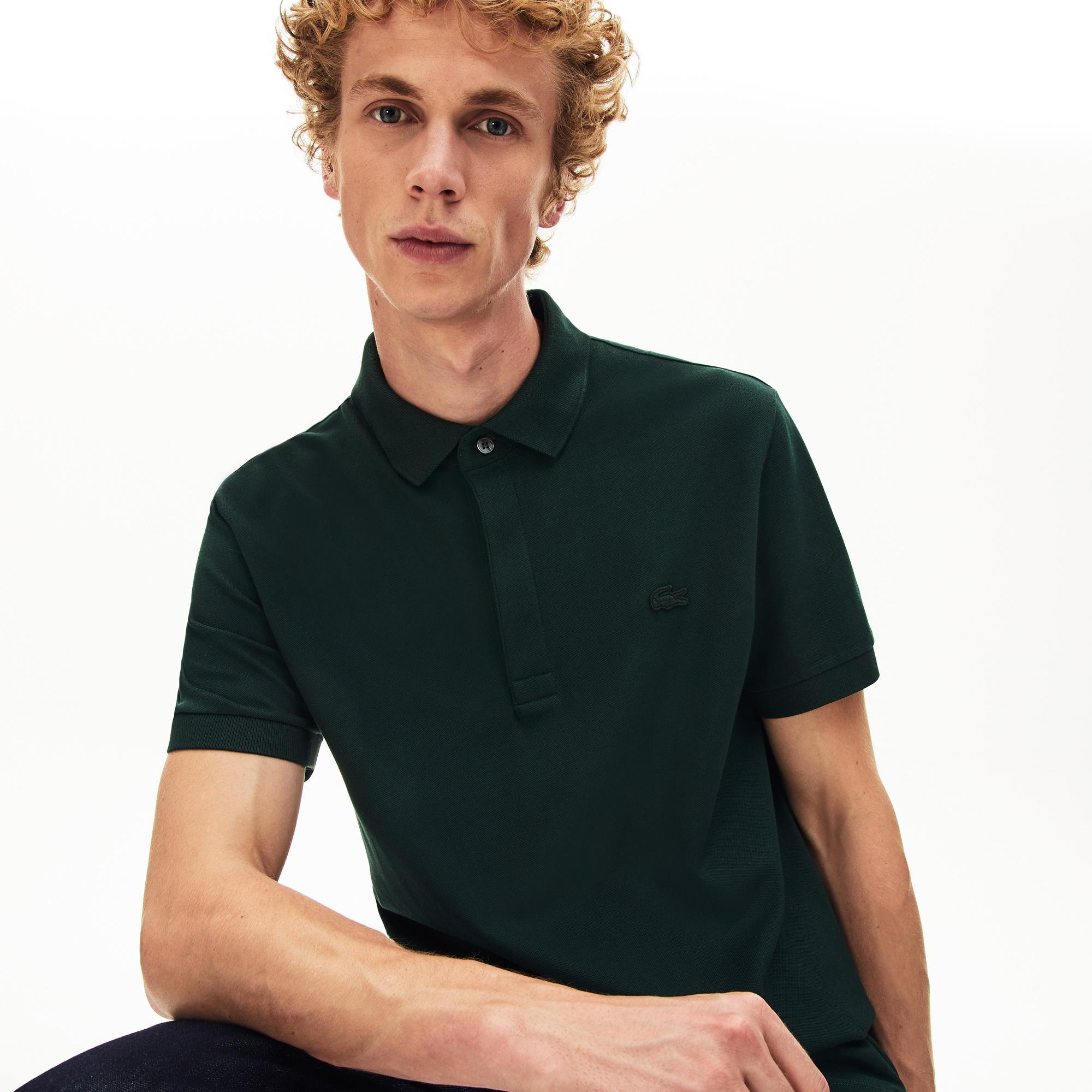 Lacoste Erkek Regular Fit Yeşil Paris Polo