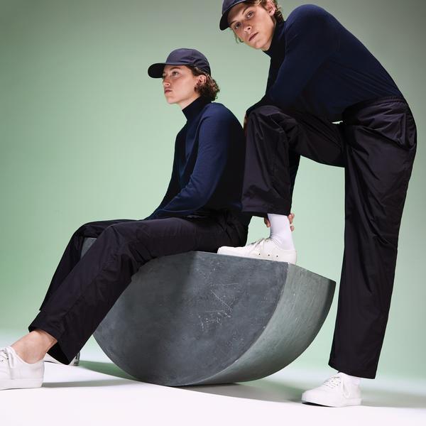 Lacoste Fashion Show Unisex Lacivert Pantolon
