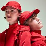 Lacoste Fashion Show Unisex Timsah Nakışlı Kırmızı Şapka