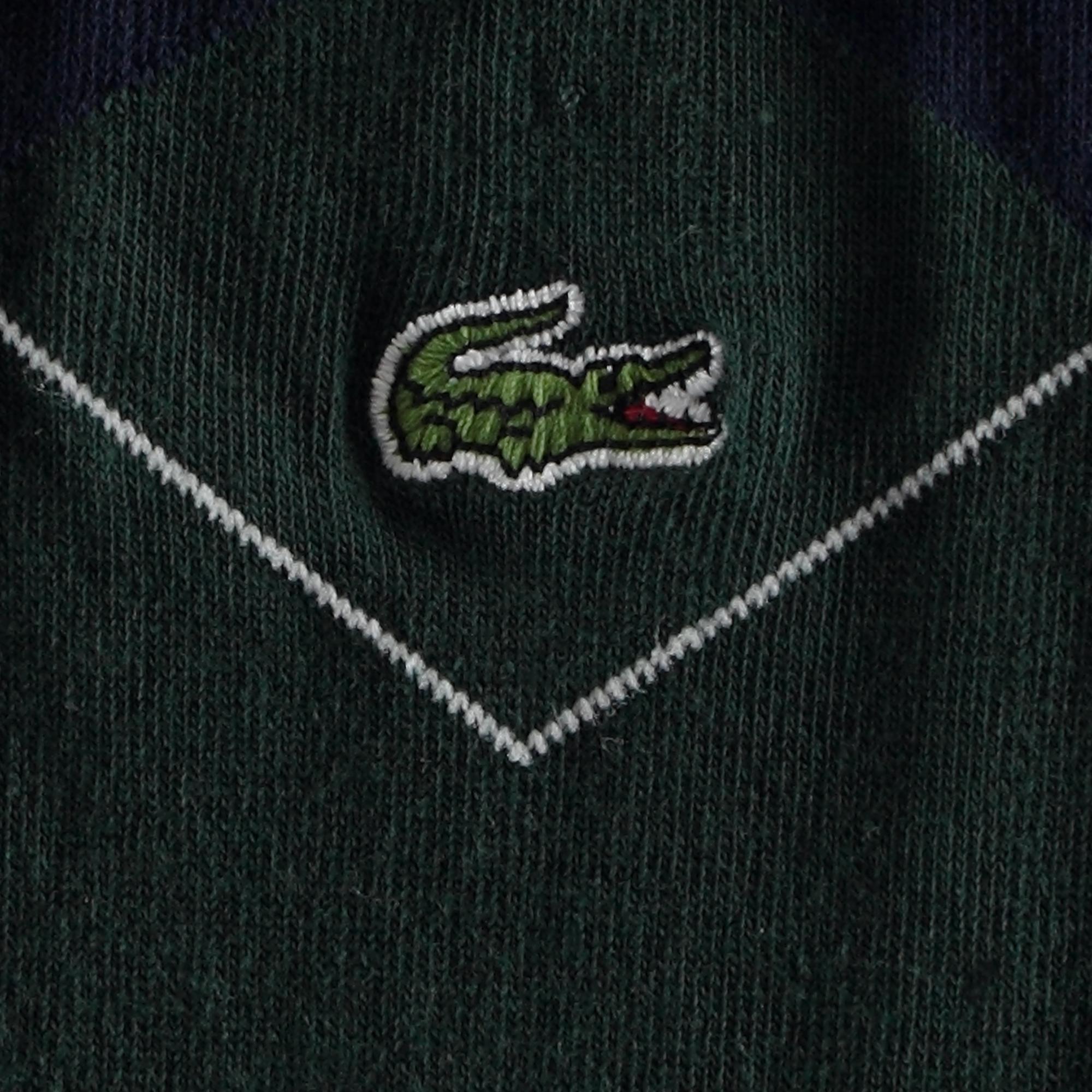 Lacoste Unisex Desenli Yeşil Çorap