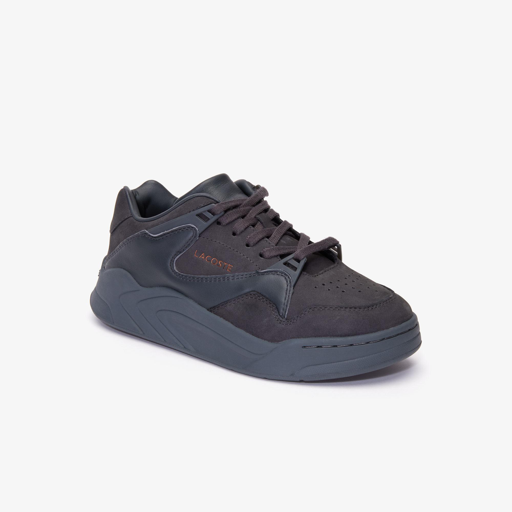 Lacoste Court Slam 419 1 Sfa Kadın Kahverengi - Koyu Gri Sneaker
