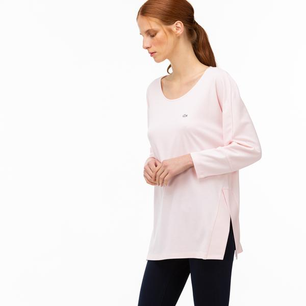 Lacoste Kadın Açık Pembe Uzun Kollu T-Shirt