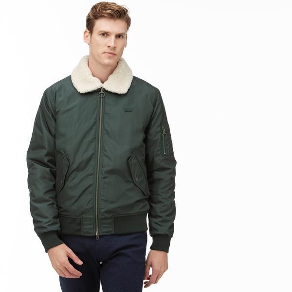 Lacoste Erkek Yeşil Bomber Ceket