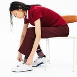 Lacoste Court Slam 319 3 Sfa Kadın Beyaz - Yeşil Sneaker