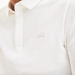 Lacoste Erkek Regular Fit Uzun Kollu Beyaz Paris Polo