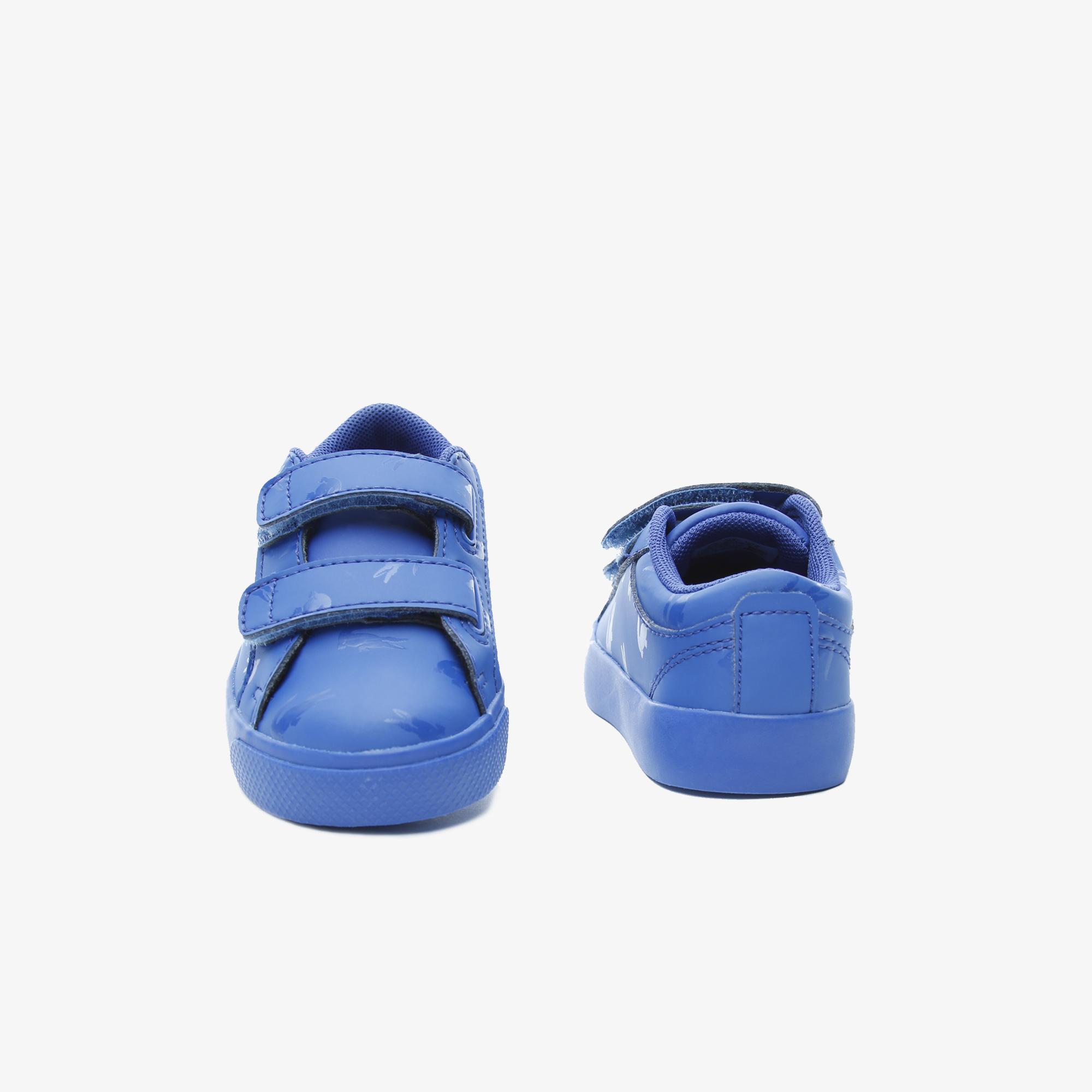 Lacoste Straightset 319 2 Cui Çocuk Mavi - Mavi Casual Ayakkabı