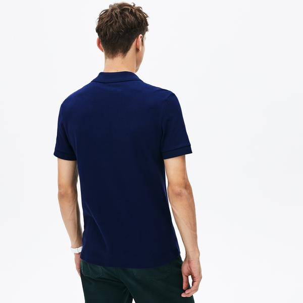 Lacoste Croco Magic Erkek Regular Fit Lacivert Polo