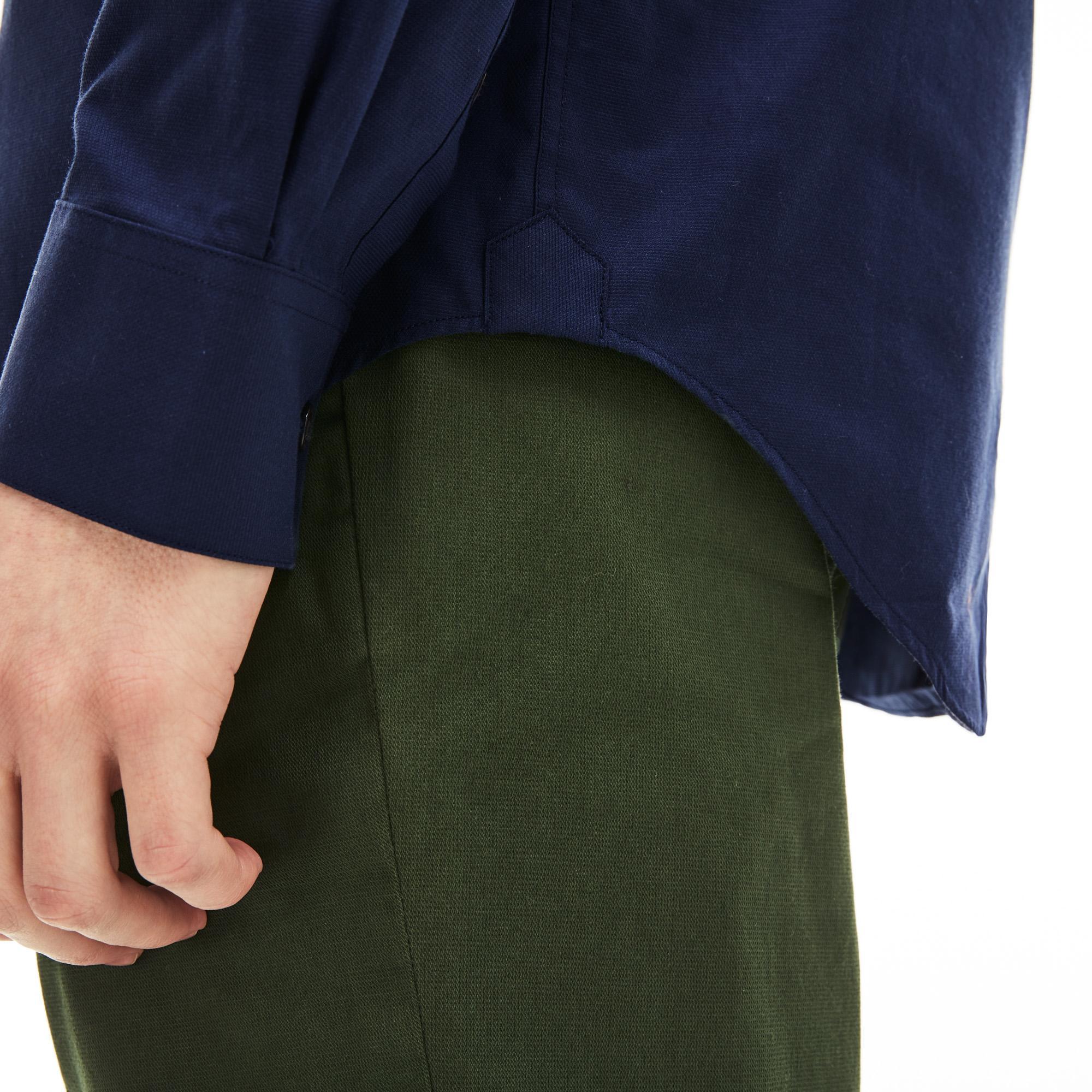 Lacoste Erkek Regular Fit Lacivert Gömlek
