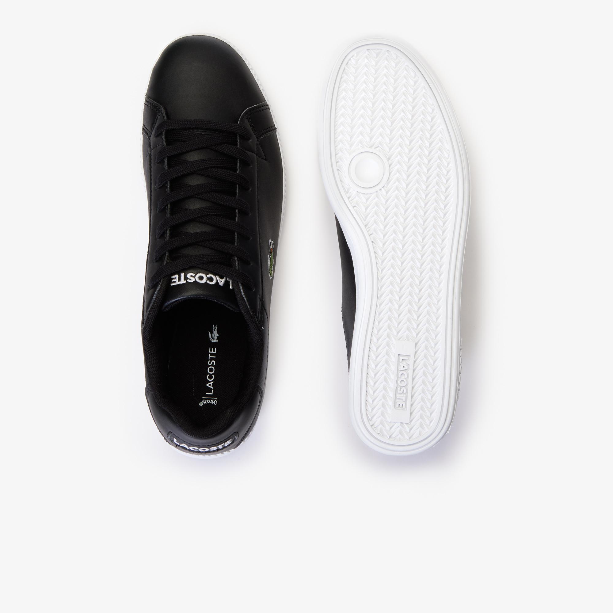 Lacoste Graduate BL 1 Erkek Siyah - Beyaz Sneaker