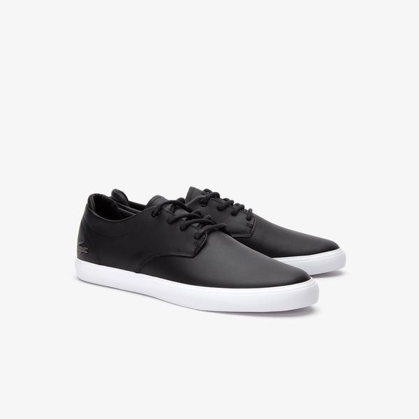 Lacoste Esparre BL 1 Erkek Siyah - Beyaz Casual Ayakkabı