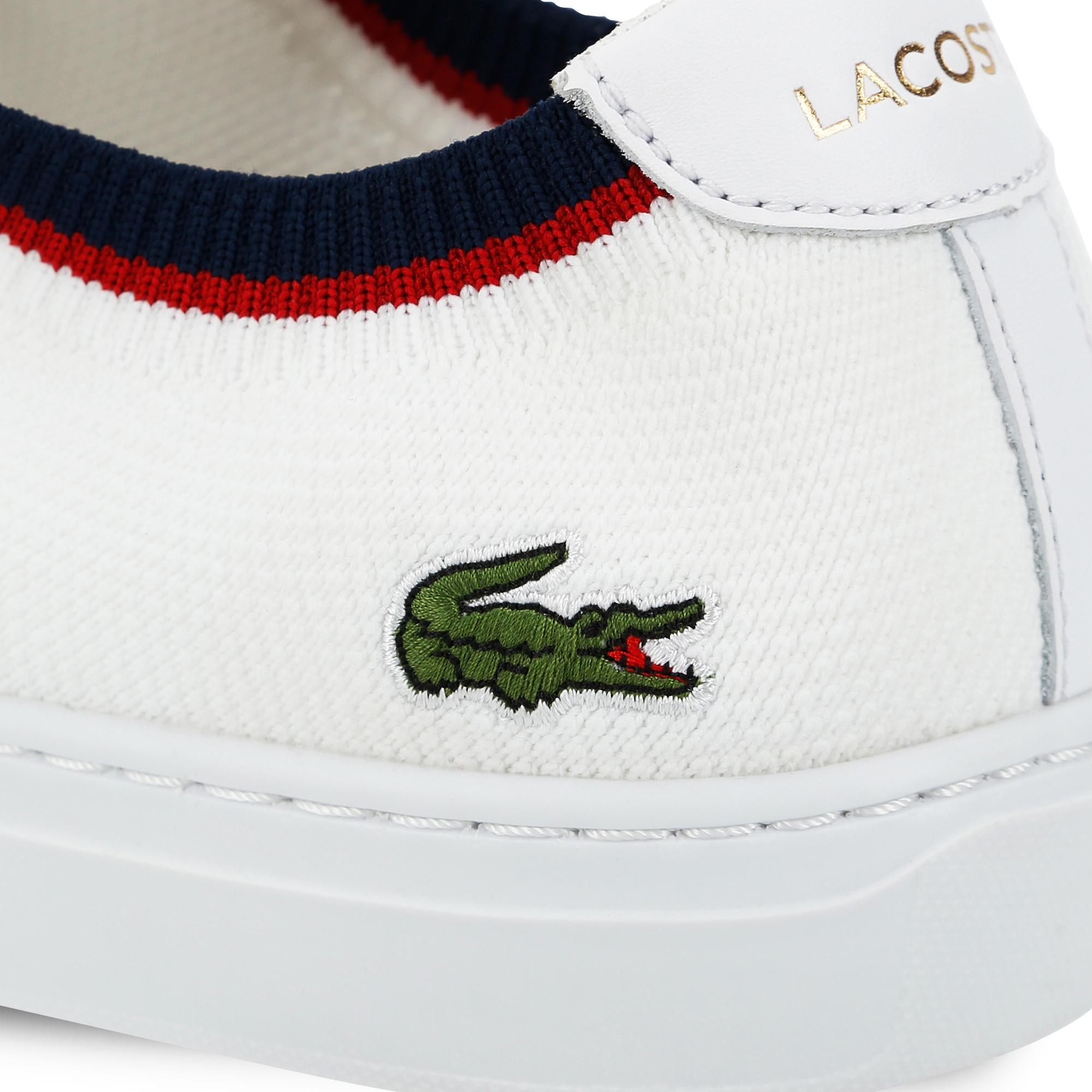 Lacoste La Piquée 119 1 Erkek Beyaz - Lacivert - Kırmızı Casual Ayakkabı