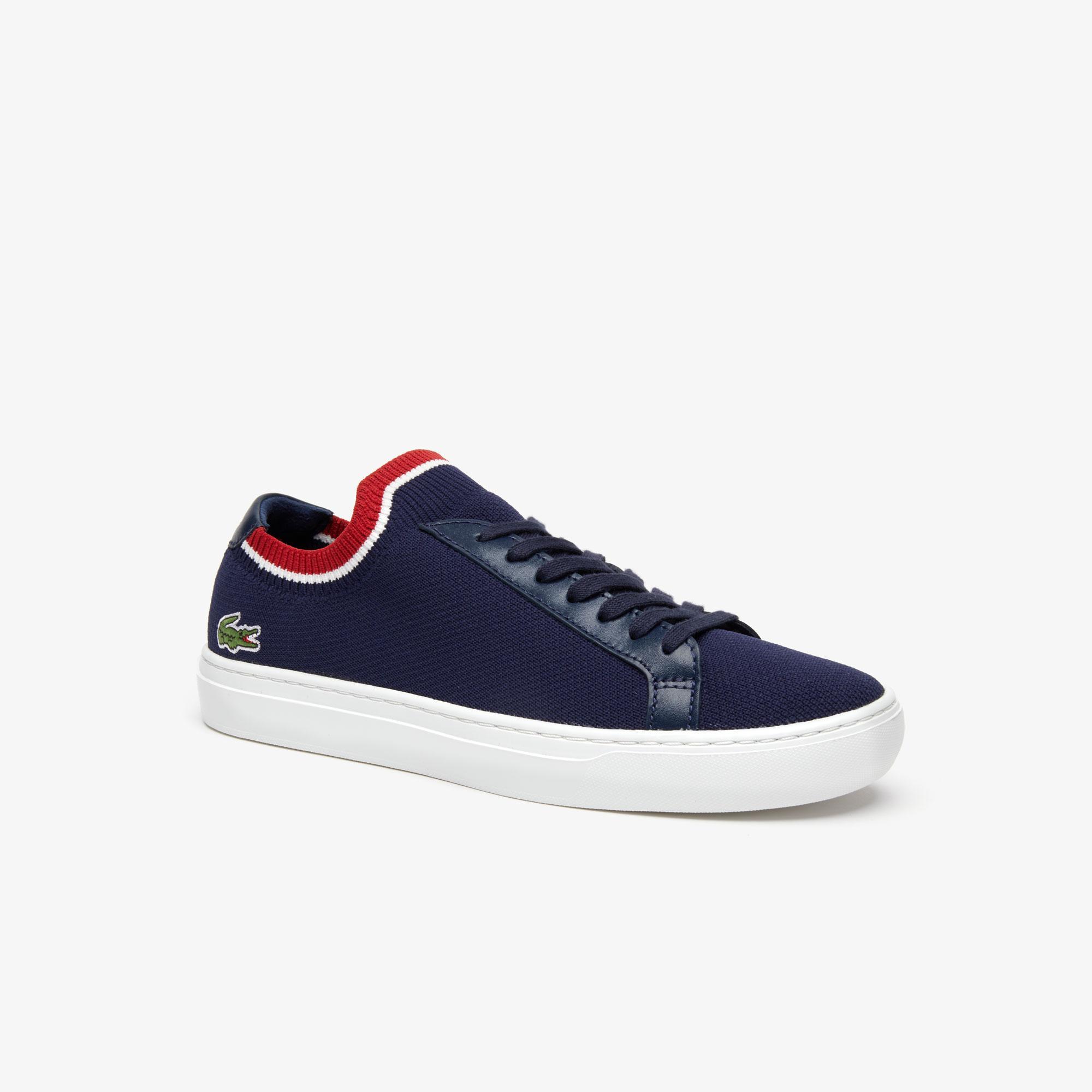 Lacoste La Piquée 119 1 Erkek Lacivert - Beyaz - Kırmızı Casual Ayakkabı