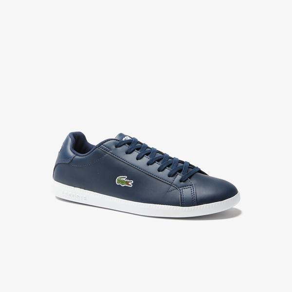 Lacoste Graduate BL 1 Erkek Lacivert - Beyaz Sneaker