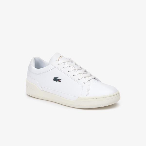 Lacoste Challenge 419 1 Sfa Kadın Beyaz - Bej Sneaker