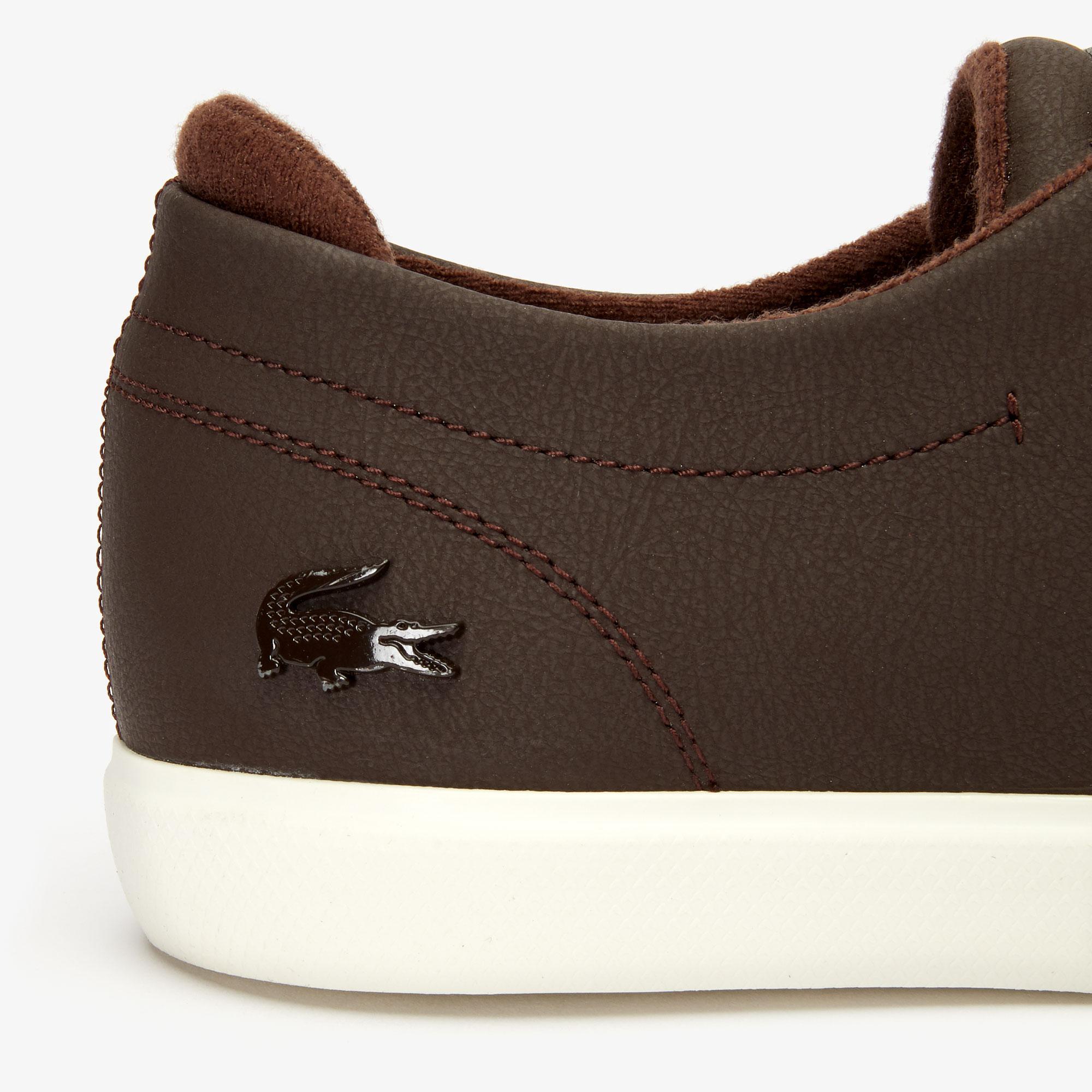 Lacoste Esparre 319 3 Cma Erkek Koyu Kahverengi - Bej Casual Ayakkabı