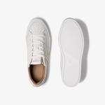 Lacoste Courtline 120 4 Us Cma Erkek Beyaz Deri Casual Ayakkabı