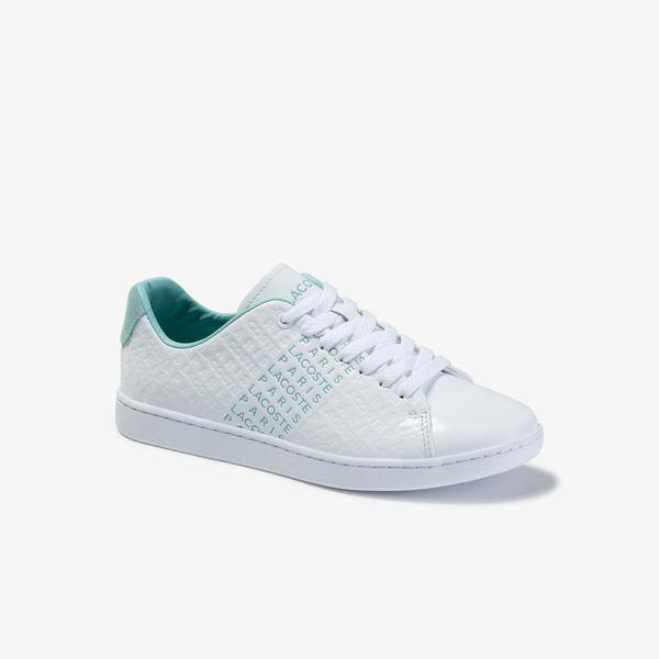 Lacoste Carnaby Evo 120 3 Sfa Kadın Beyaz Deri Sneaker
