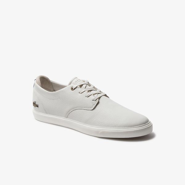 Lacoste Esparre 120 2 Cma Erkek Bej Deri Casual Ayakkabı
