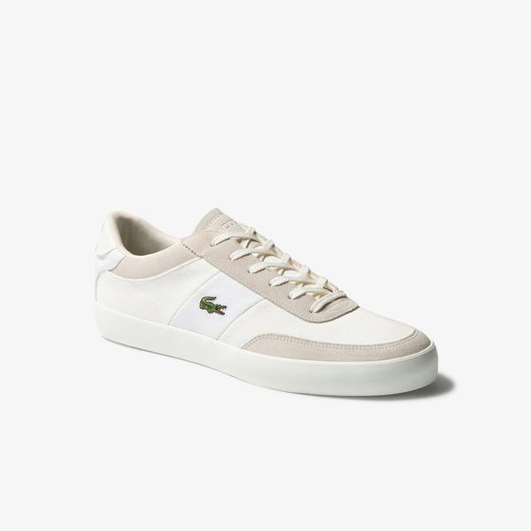 Lacoste Court-Master 120 2 Cma Erkek Beyaz Deri Casual Ayakkabı
