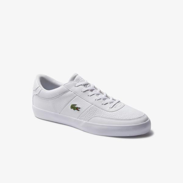 Lacoste Court-Master 120 5 Cma Erkek Beyaz Deri Casual Ayakkabı