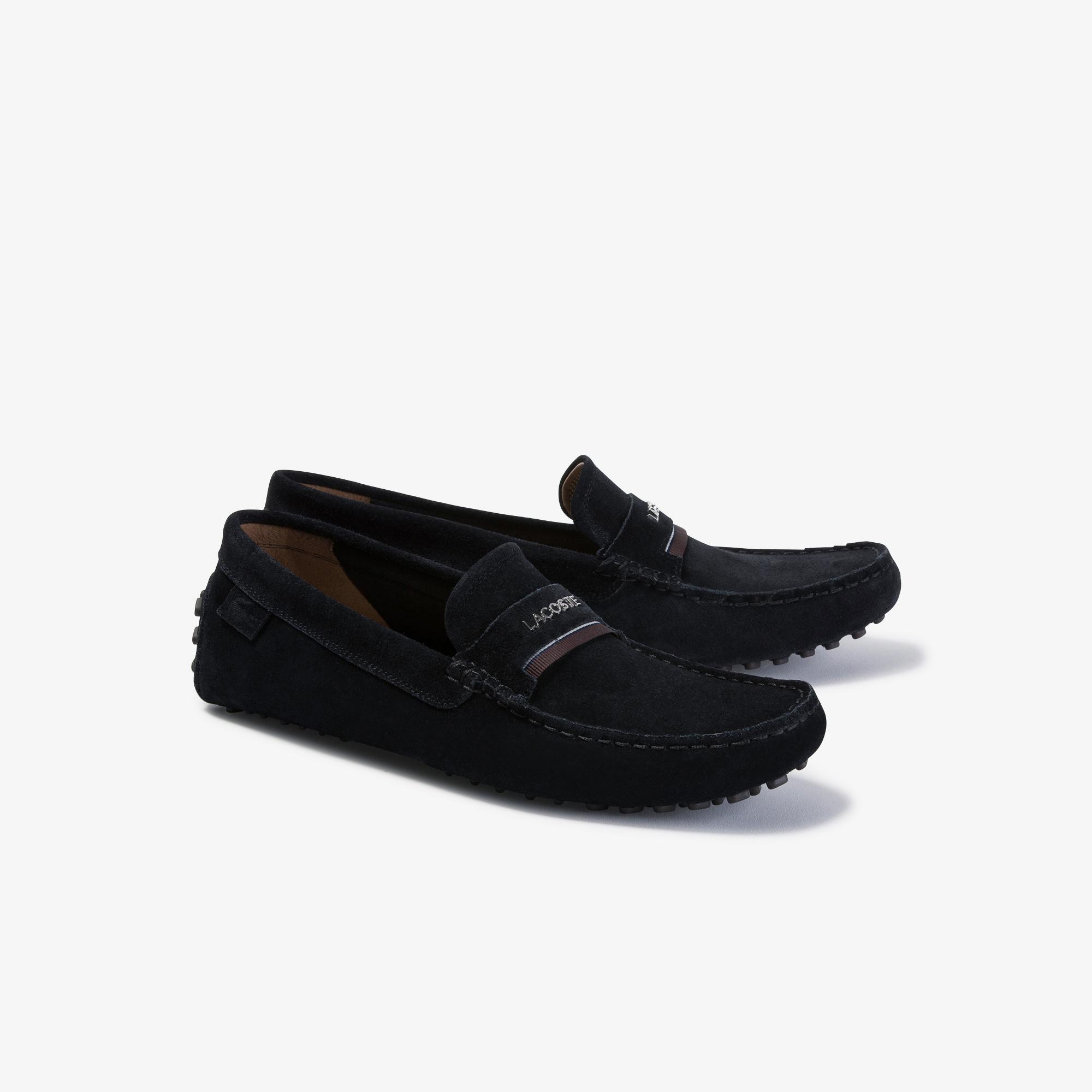 Lacoste Plaisance 120 1 Cma Erkek Siyah-Koyu Kahverengi Casual Ayakkabı