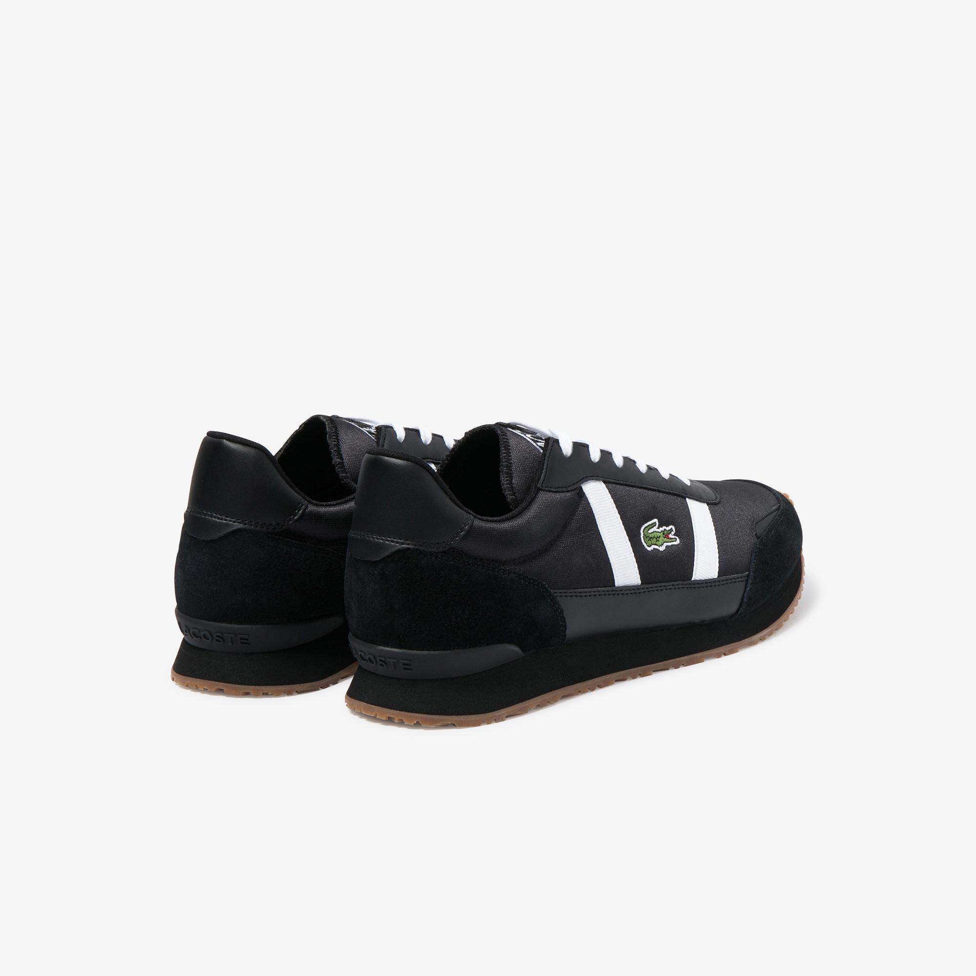 Lacoste Partner 120 4 Sma Erkek Siyah - Gri Sneaker