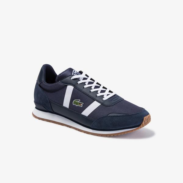 Lacoste Partner 120 4 Sma Erkek Lacivert - Gri Sneaker