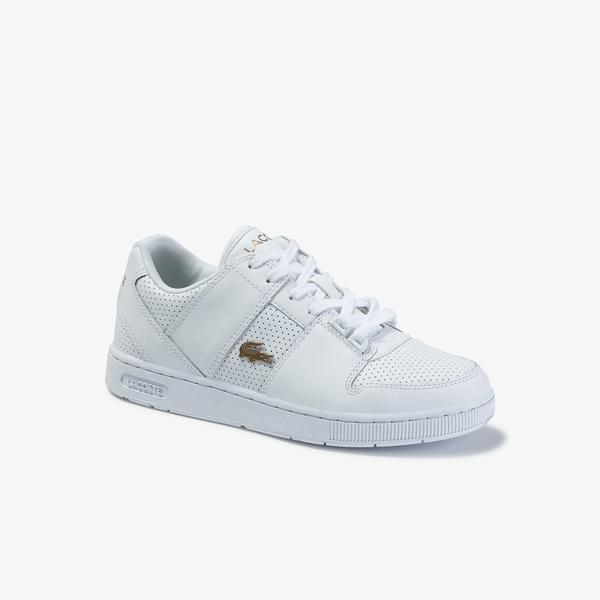 Lacoste Thrill 120 1 Us Sfa Kadın Beyaz Deri Sneaker