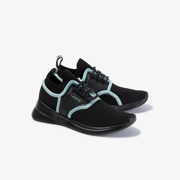 Lacoste Lt Sense 120 1 Sfa Kadın Siyah - Açık Yeşil Sneaker