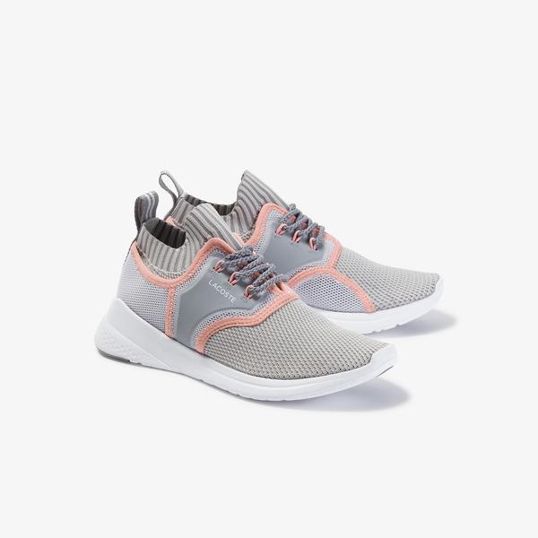 Lacoste Lt Sense 120 1 Sfa Kadın Gri - Açık Pembe Sneaker