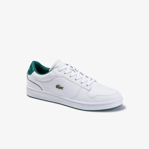 Lacoste Masters Cup 120 2 Sma Erkek Beyaz Deri Sneaker