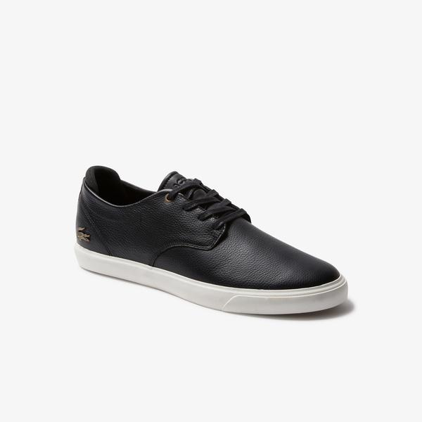 Lacoste Esparre 120 2 Cma Erkek Siyah  Deri Casual Ayakkabı