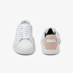 Lacoste Graduate 120 1 Sfa Kadın Beyaz - Pudra Deri Sneaker