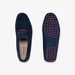 Lacoste Plaisance 120 1 Cma Erkek Lacivert - Koyu Kırmızı Casual Ayakkabı