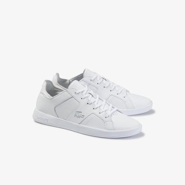 Lacoste Novas 120 3 Sma Erkek Beyaz Deri Sneaker