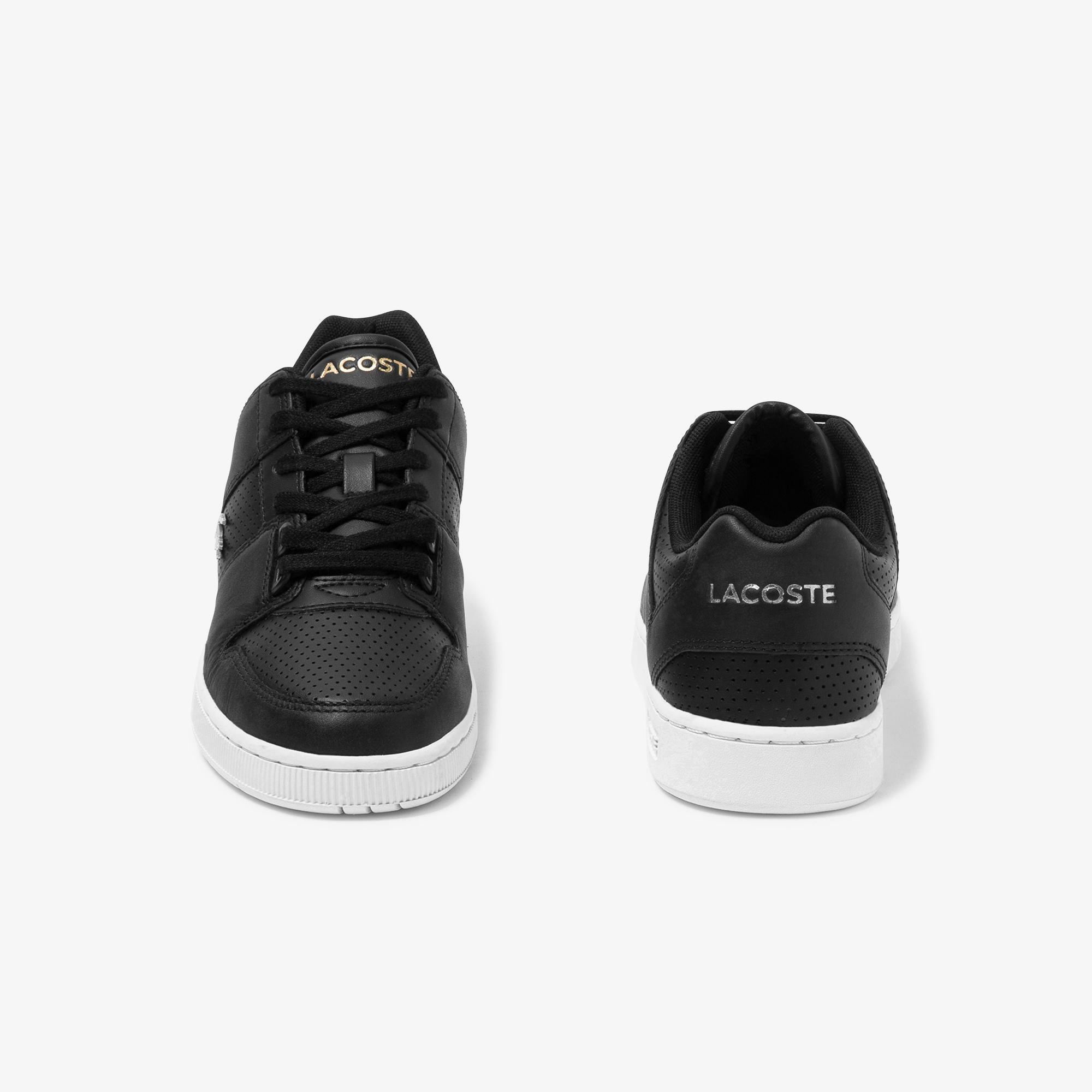 Lacoste Thrill 120 1 Us Sfa Kadın Siyah Deri Sneaker
