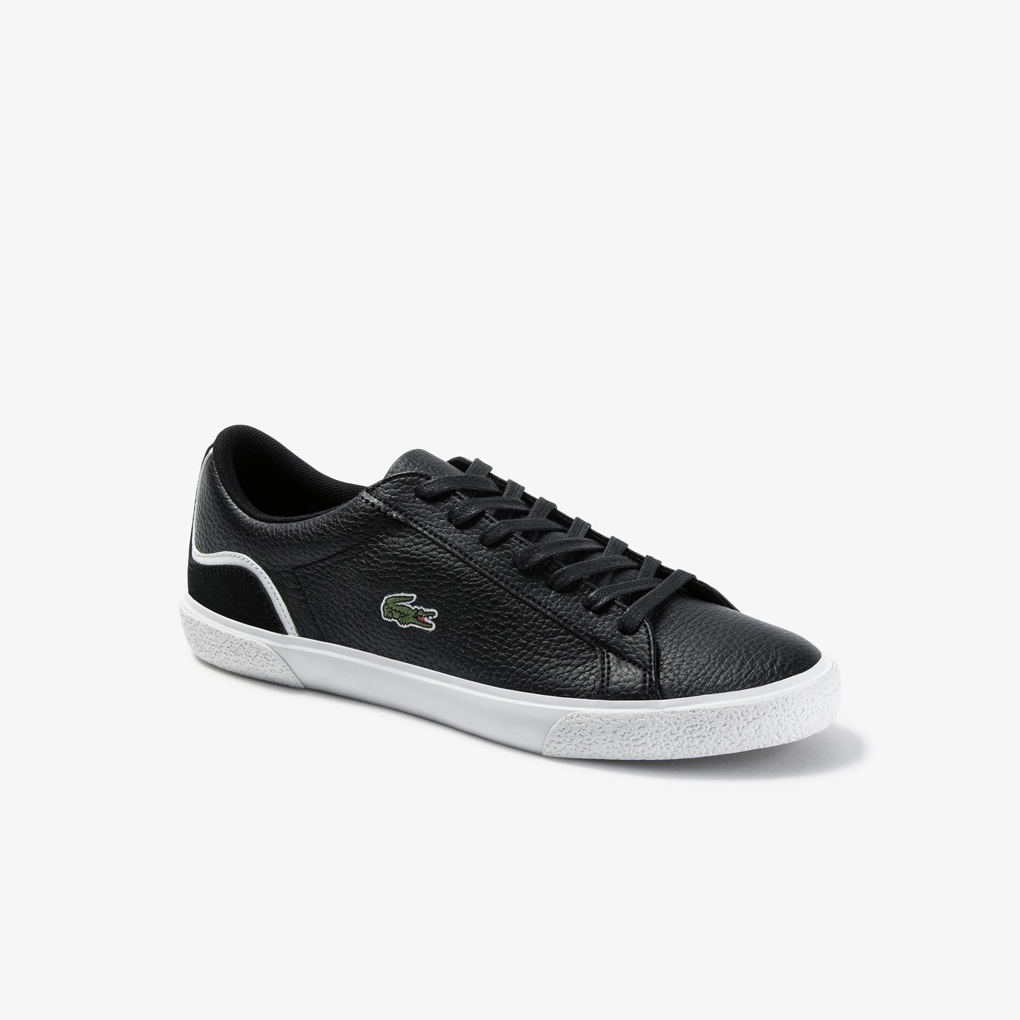 Lacoste Lerond 120 7 Cma Erkek Siyah Deri Casual Ayakkabı