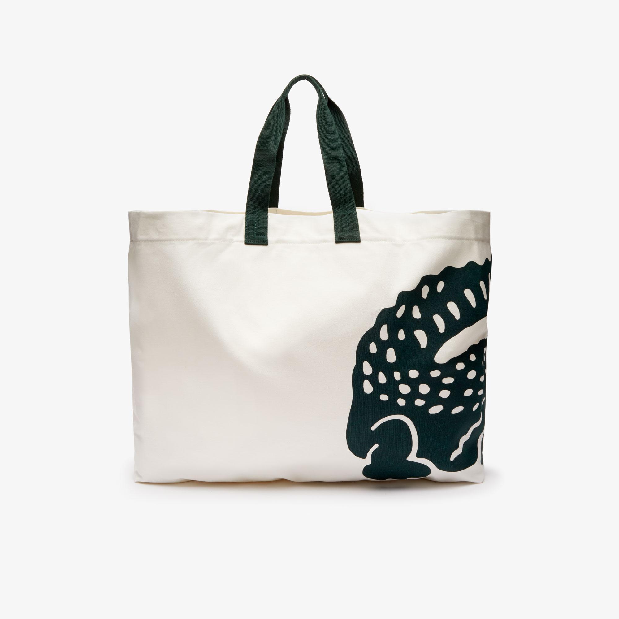 Lacoste Beach Pack Beyaz Alışveriş Çantası