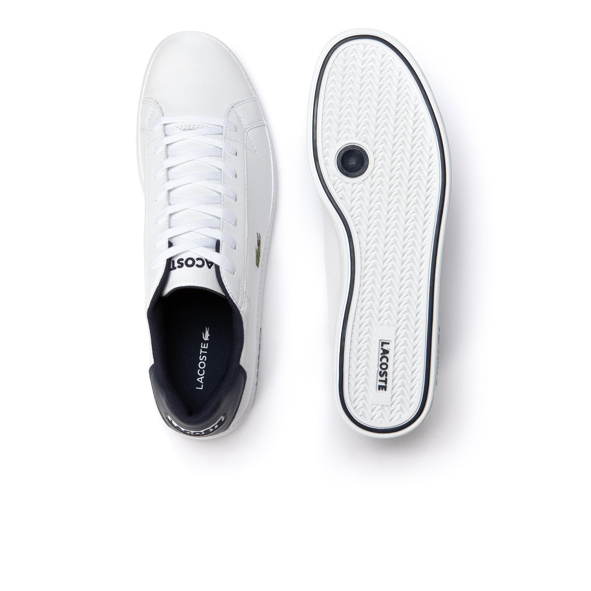 Lacoste Graduate Lcr3 Erkek Beyaz Sneaker Ayakkabı