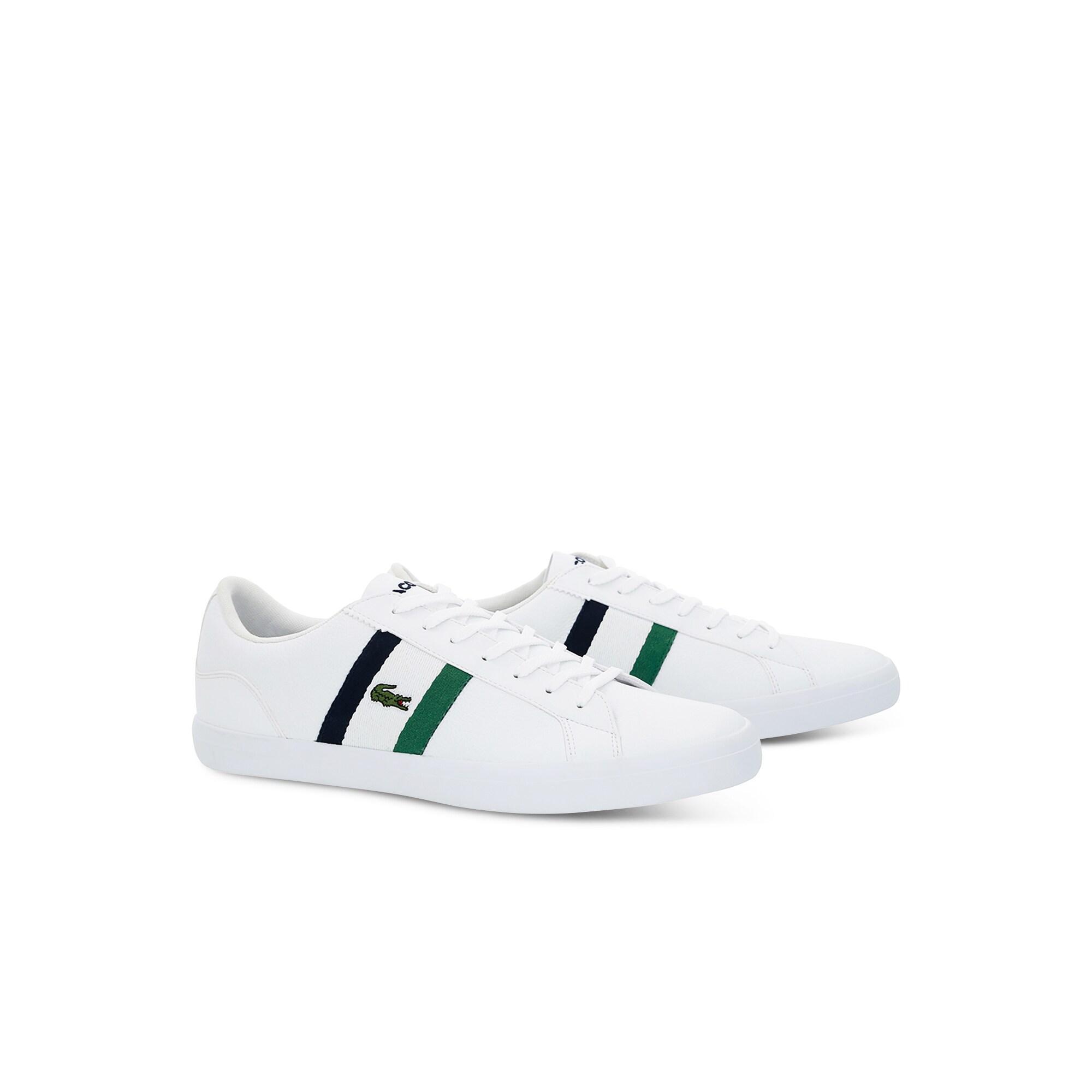 Lacoste Erkek Beyaz - Lacivert Lerond 119 3 Casual Ayakkabı